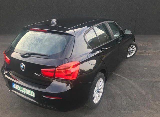BMW 114D  EURO6 LCI Sapphire Black vol